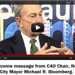 "<span class=""caps"">C40</span> Cities Chair Michael Bloomberg Leads the World's Megacities Down Agenda 21 Path"