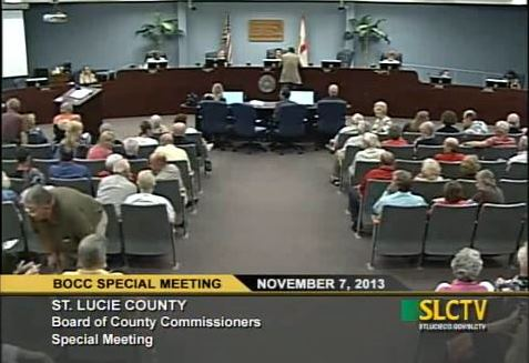 St Lucie FL BOCC video