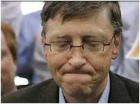 Bill Gates frowning