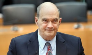 William Binney testifies before a German inquiry into surveillance. Photograph: Getty Images