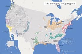 America 2050 Megaregions