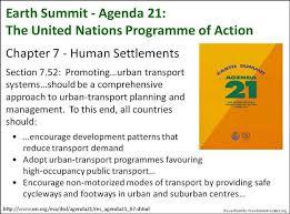 Agenda 21, Chapter 7