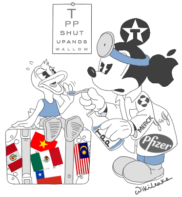 Press Release Updated Secret Trans Pacific Partnership Agreement