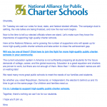 The Common Core Charter School Agenda
