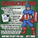 Bureaucrat Man saves the day again