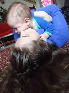 Baby Levi with mom Erica