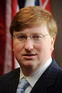 PHOTO BY: State of Mississippi SECOND IN COMMAND: Lt. Gov. Tate Reeves advocates the replacement of the state's Common Core curriculum.