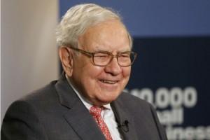 Photographer: Jeff Kowalsky/Bloomberg Warren Buffett, chief executive officer of Berkshire Hathaway Inc..