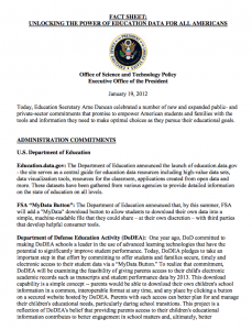 Whitehouse.gov fact sheet p 1