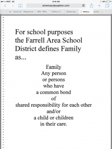 Farrell definition of family