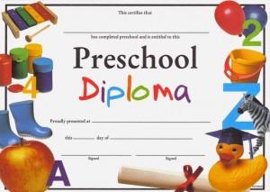 PreschoolDiploma
