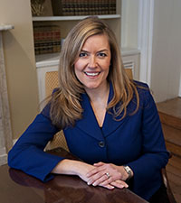 PATRIOTIC? State Sen. Jennifer Wexton wants to endow Virginia law-enforcement agencies with Patriot Act powers.