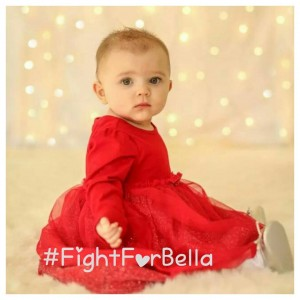 Baby Bella taken over infant formula. Source: Fight for Bella Facebook page.