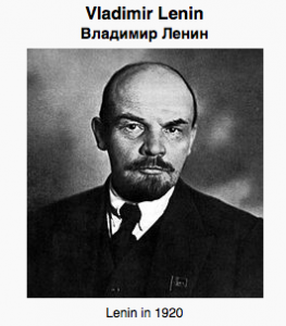 Read more about Lenin HERE