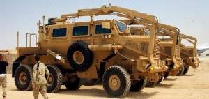 Mine-Resistant Ambush-Protected (MRAP) Vehicle