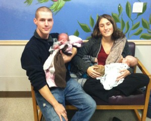 Cleave, Erica, and their three children. CPS demanded that Erica separate from Cleave against her will.