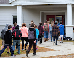 Photo courtesy of Putney Central School SCHOOL MERGER: The six school districts in the Windham Southeast Supervisory Union represent 10 schools across the towns of Brattleboro, Guilford, Putney, Vernon and Dummerston.