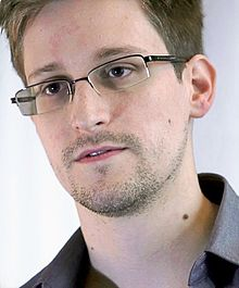 Edward Snowden during an interview with Glenn Greenwald and Laura Poitras, June 6, 2013. WIKIPEDIA/Screenshot of a Laura Poitras film by Praxis Films
